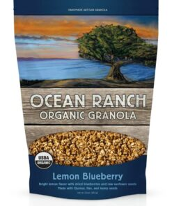 Ocean Ranch Organic Granola Lemon BlueBerry
