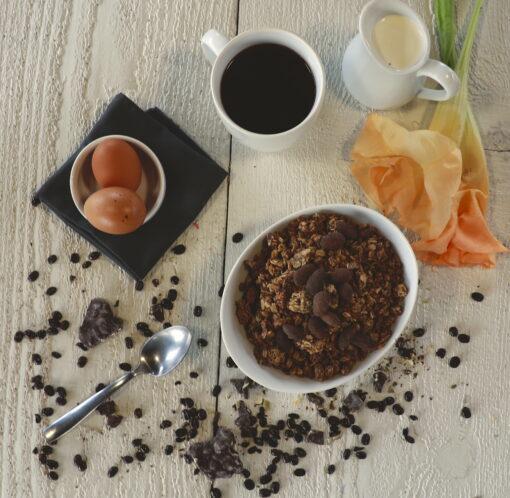 Dark Chocolate Coffee bean Gluten Free Granola