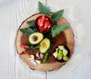 we put fresh ripe avocado on almost anything.