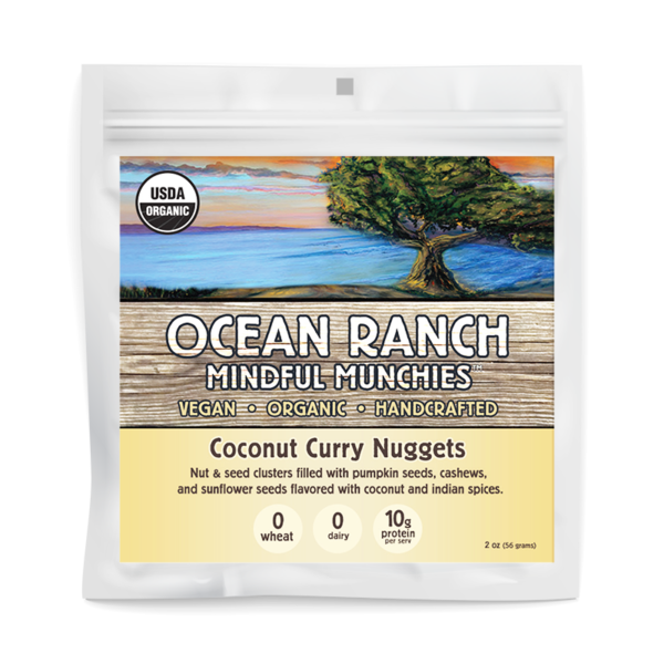 Coconut Curry Nugget MockUps
