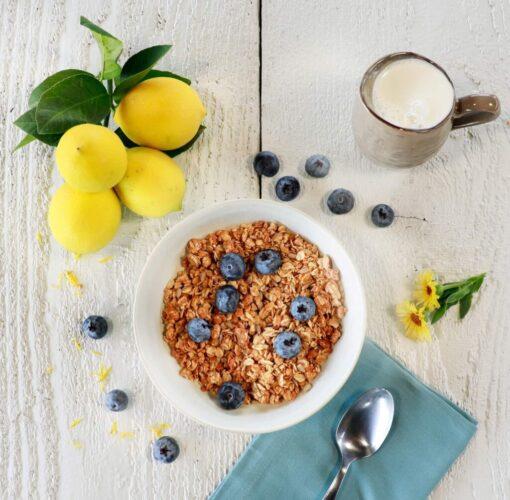 Lemon Blueberry Organic Granola
