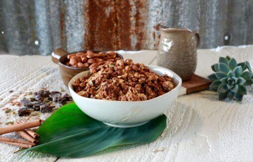 Oaxacan Chocolate Organic Granola