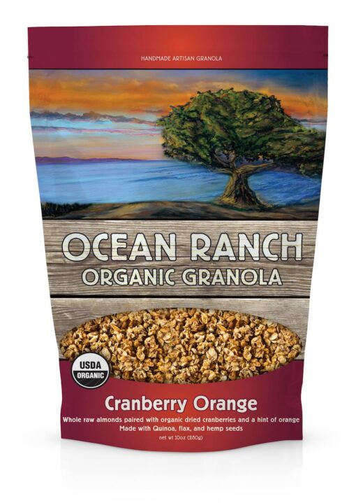 Cranberry Orange Organic Granola