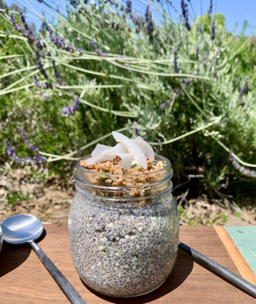For those with Celiac Disease, Gluten Free Vanilla Super Seed Chia Pudding