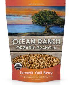 Turmeric Goji Berry Organic Granola